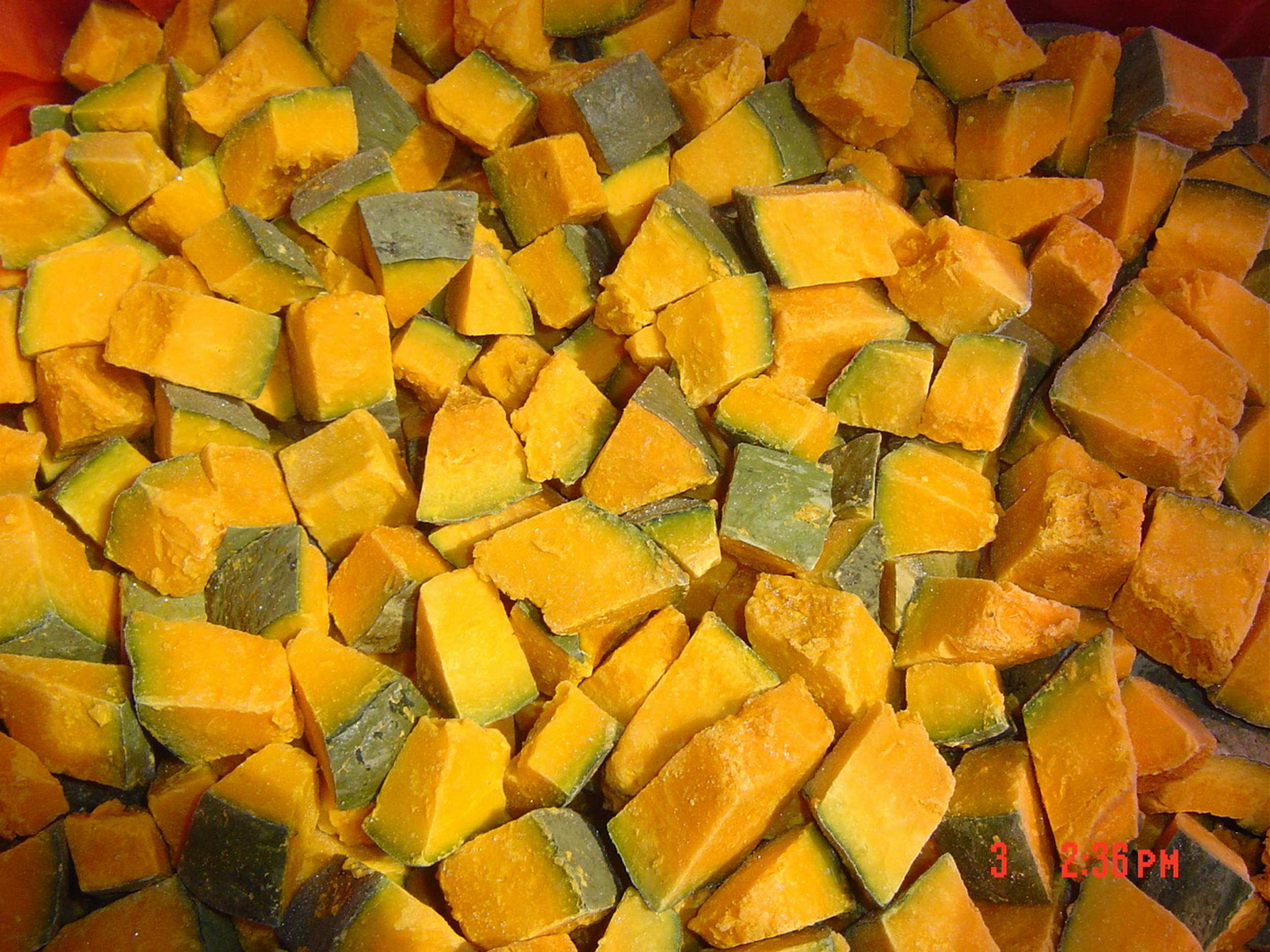 TOP QUALITY! OFFER VIETNAMESE FROZEN PUMPKIN WITH HIGH QUALITY AND BEST PRICE in 2020