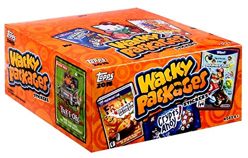 Wacky Packages Wacky Packages 2015 Wacky Packages Wacky Packages 2015 Trading Card Box
