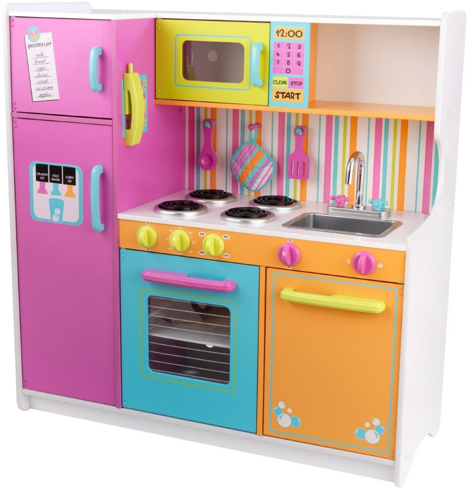 Wooden Children's Kitchen Set