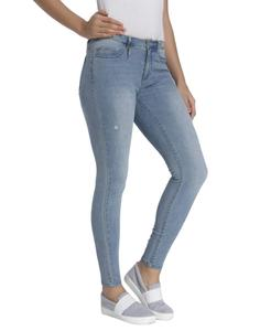 Ladies Fashionable Loose fitted casual Denim Jeans Pant with Plus Size