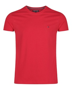Red Color O-Neck Short Sleeve Polo T-Shirt For Men