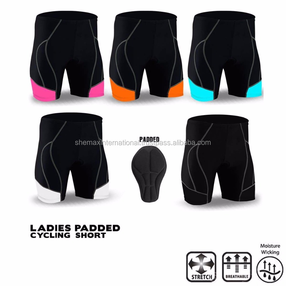 Ladies Cycling Short Anti-Bac Padded MTB Bicycle Pant All Sizes