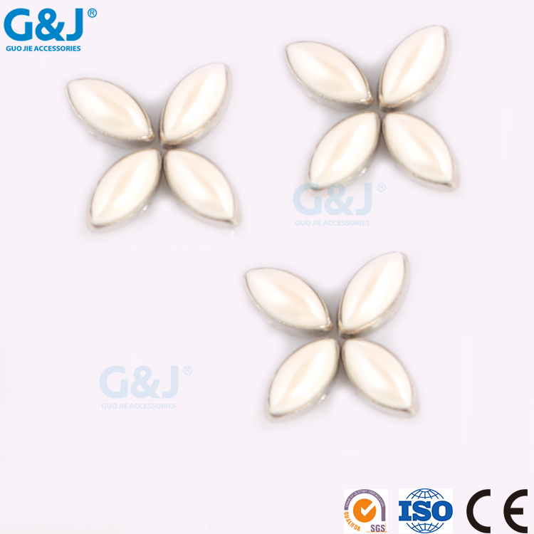 guojie brand Wholesale AB Color flat back Round Shape rhinestones dresses resin stone