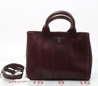 Used designer Handbag PRADA 2Way Tote bag with shoulder strap Handbags for Wholesale. Many brands available.