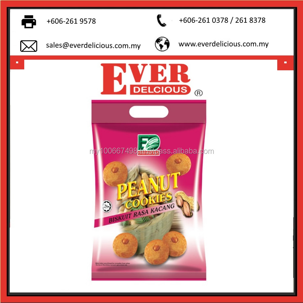 Malaysia Factory 400g Fortune Peanut Cookies Digestive Biscuit