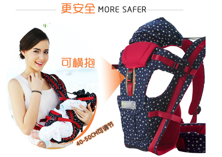 Amazon hot sale ergonomic design wholesale lightweight 360 baby waist seat carrier