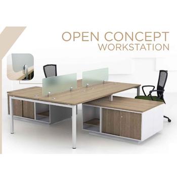 Open Concept Modern Workstation SL 55 Series Office Desk