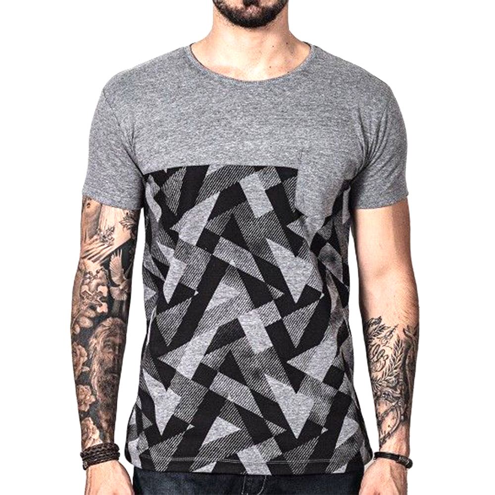 brand new find workmanship boy Abstract Design Round Neck Grey Color T Shirt In Bulk High Quality  Manufacturer Bangladesh - Buy Two Color T Shirt,Multi Colored T Shirts,T  Shirt ...