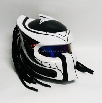 Berserker Predator Motorcycle Helmet Thailand Custom Craft Dot Ece