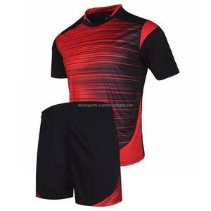 custom club embroidery logo soccer uniforms
