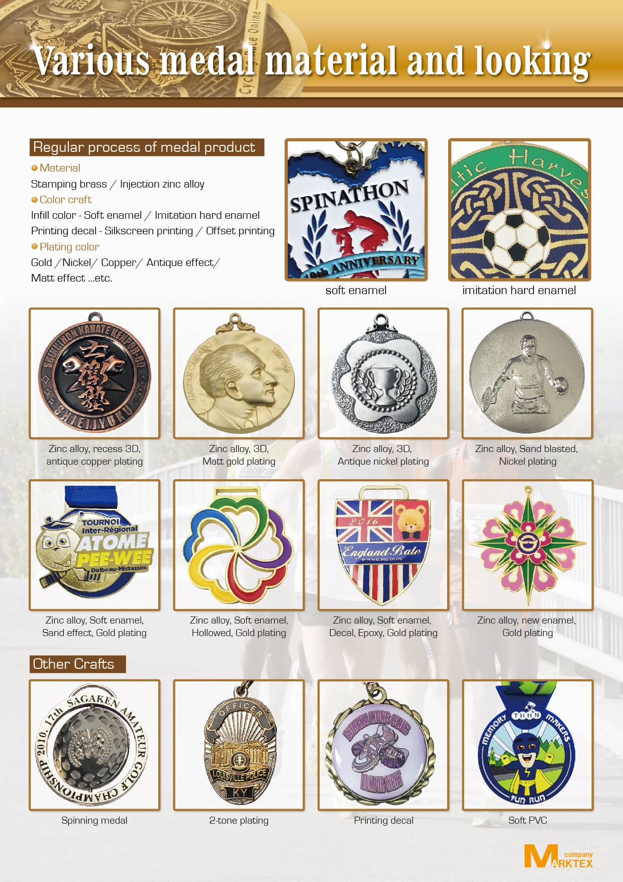 China Factory Wholesale epoxy manufacturer iron stamped soft enamel sports medal