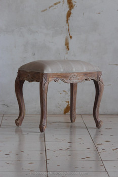 Reclaimed Furniture - Chippendale Stool Indonesia Furniture