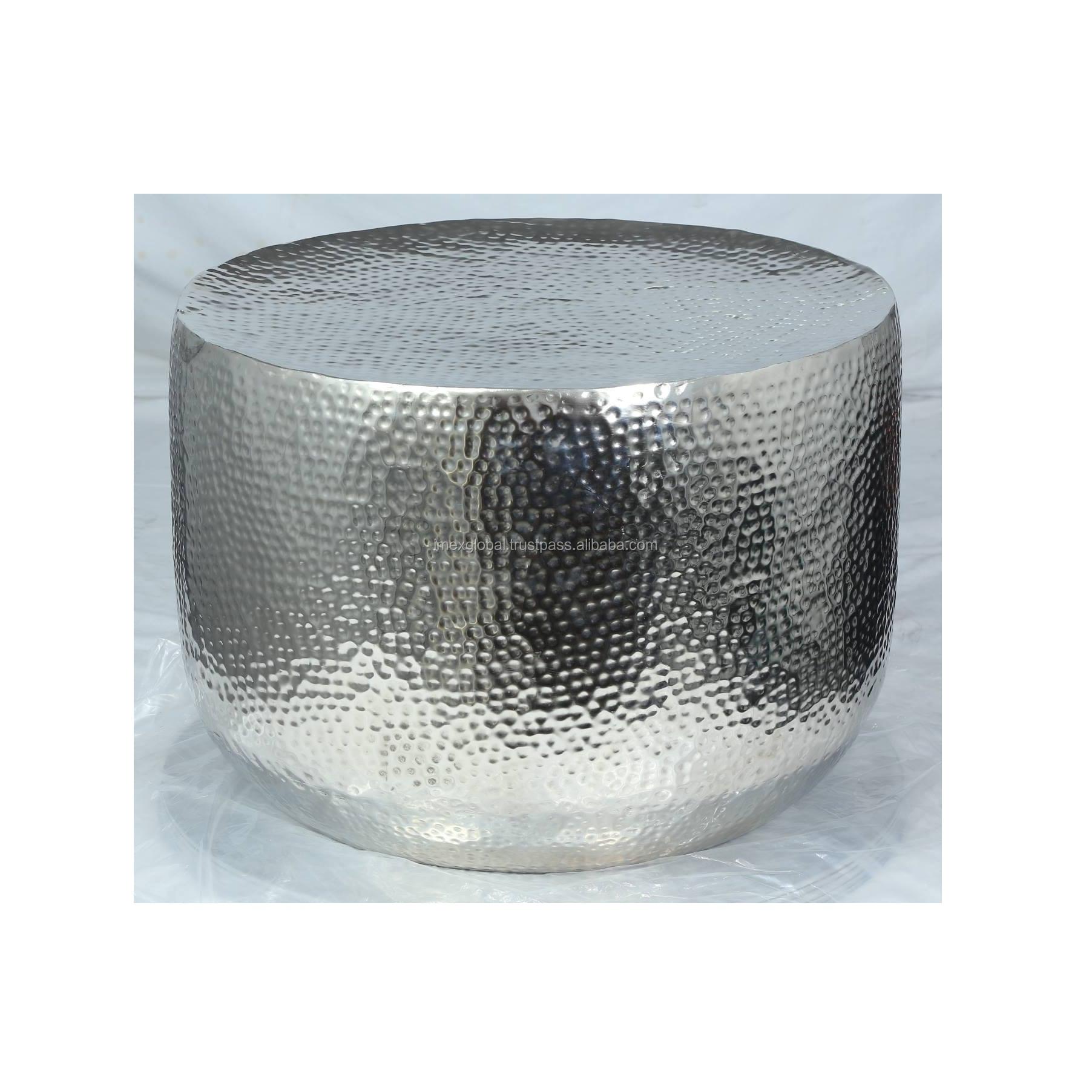 - Aluminum Hammered Round Coffee Table - Buy Aluminum Hammered Round