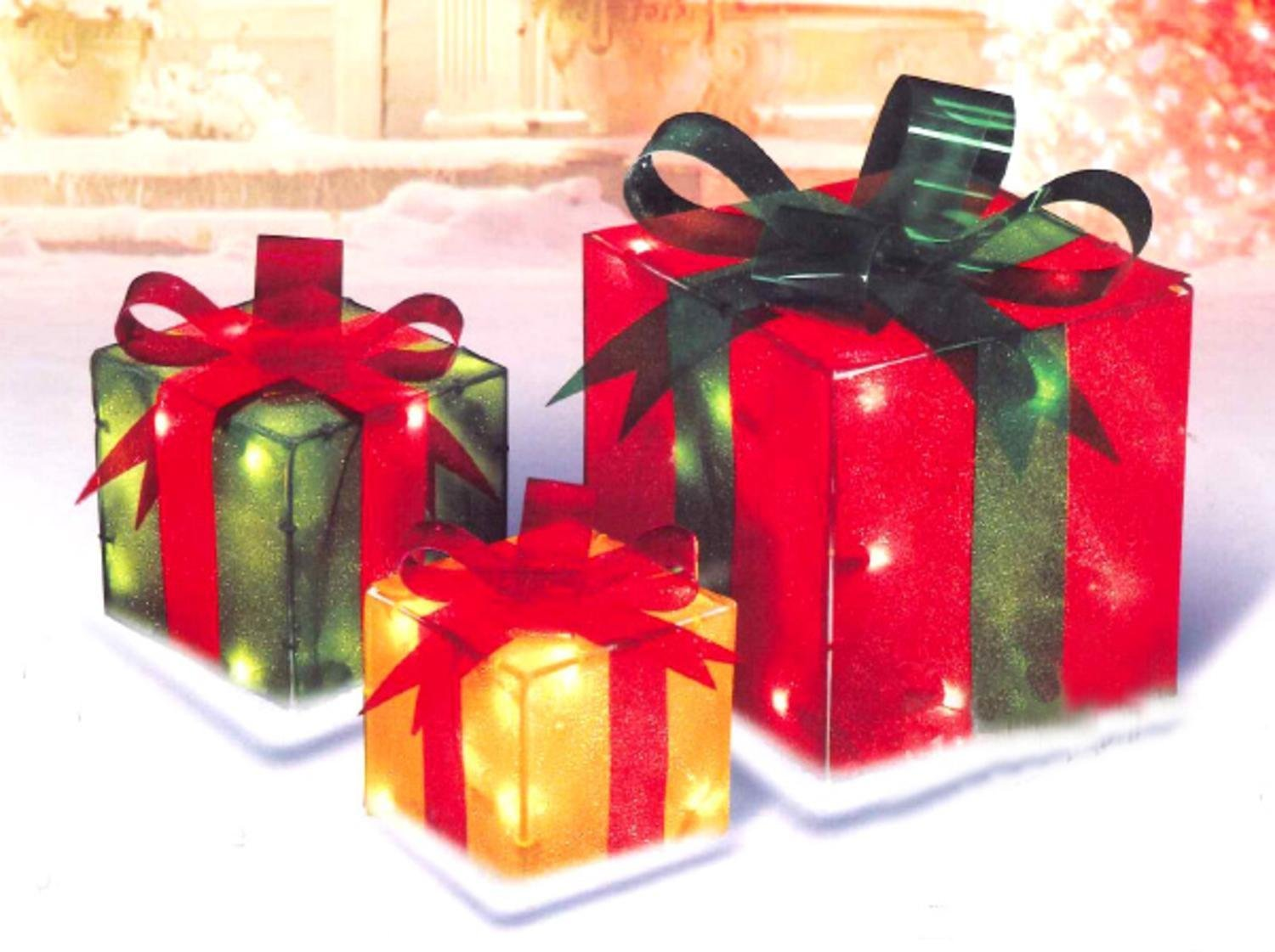 Cheap Lighted Gift Box Decorations, find Lighted Gift Box ...