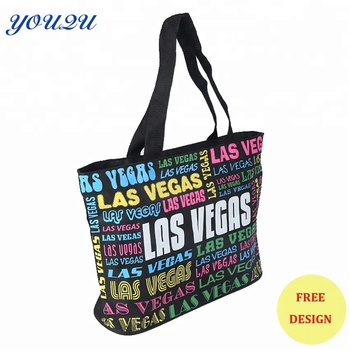 Hote Sale Fashion 600d Polyester Handbag Beach Bags 77a40d4194974