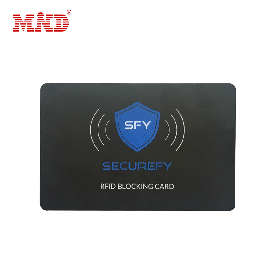 Custom Printed NFC RFID Protect Blocking Card