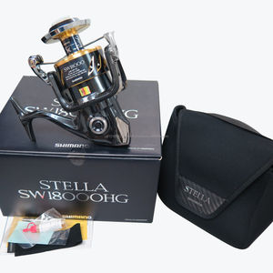 New Factory 100% Genuine SHIMANO Stella SW18000HG Spinning Reel SW18000 HG