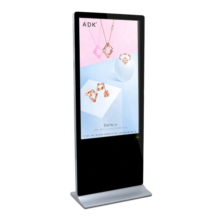 Touchpie 43 55 65 inch vloerstaande interactieve digital signage display