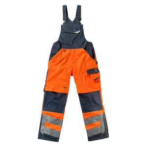 Reflective safety workwear with reflective safety vest