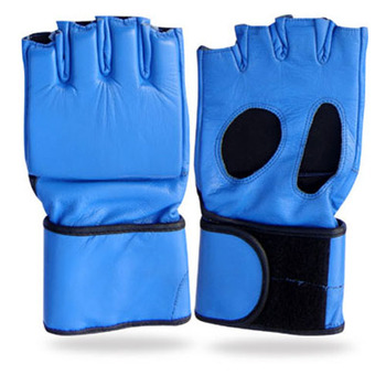 MMA,Grappling gloves,real cowhide leather gloves
