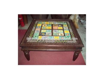 Antique Coffee Table.Wooden Coffee Table With Attractive Ceramic Tiles Buy Wooden Coffee Table With Attractive Ceramic Tiles Wooden Attractive Coffee Table Antique