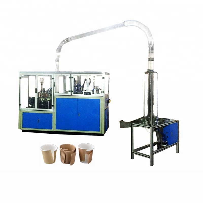 Ripple Double Wall Paper Cup Machine,Ultrasonic Coffee Cup Making Machine  Price - Buy Ripple Double Wall Paper Cup Machine,Paper Coffee Cup Making