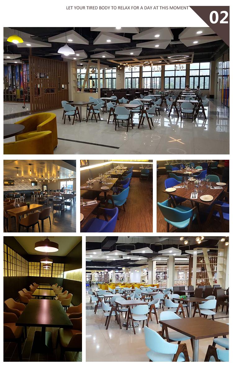 סין קפה חנות קפה ריהוט שולחנות וכיסאות FOHBCA27