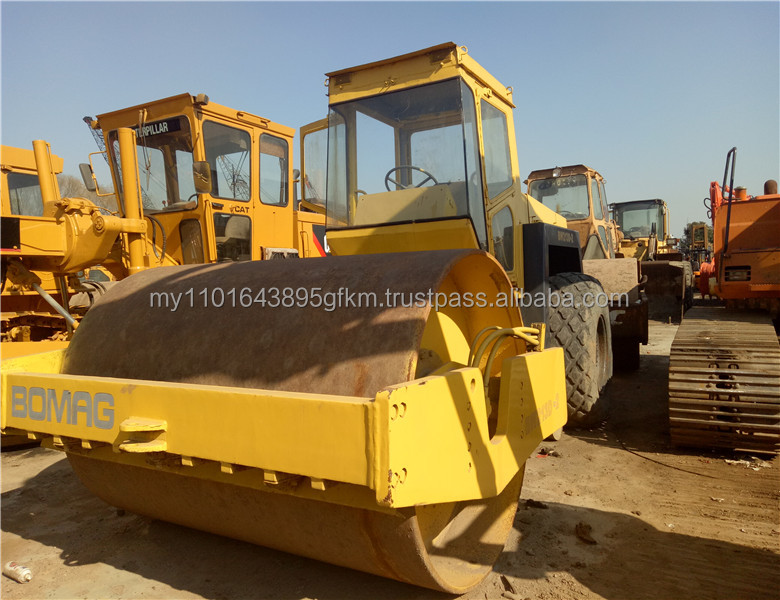 used construction machine Double Vibratory Roller Bomag BW213D road roller for sale