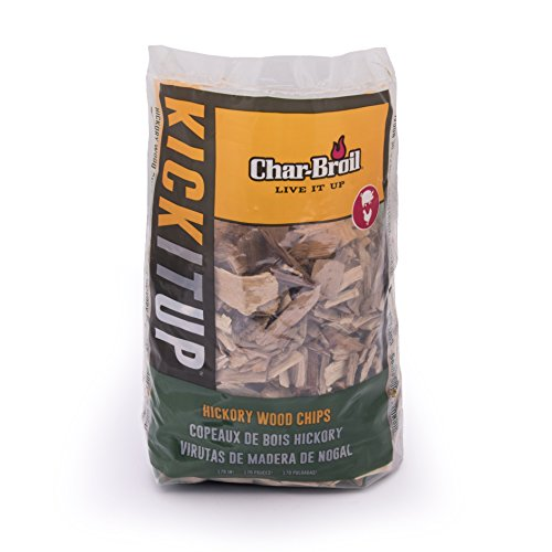 Char-Broil Hickory Wood Smoker Chips, 2-Pound Bag
