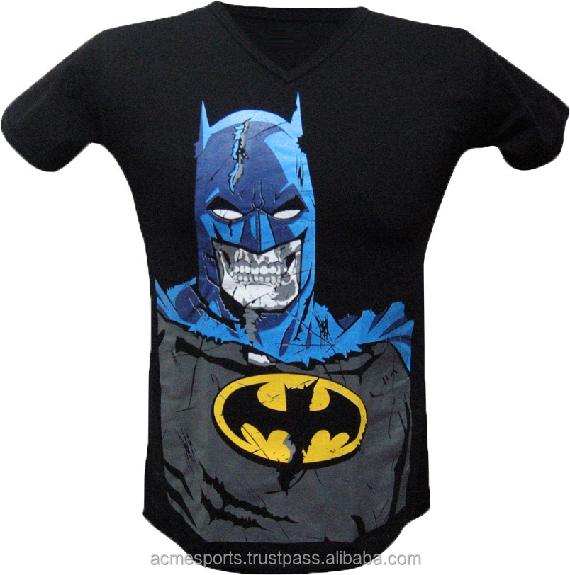 Sublimated t shirts - new design bat man printed/sublimation t shirts