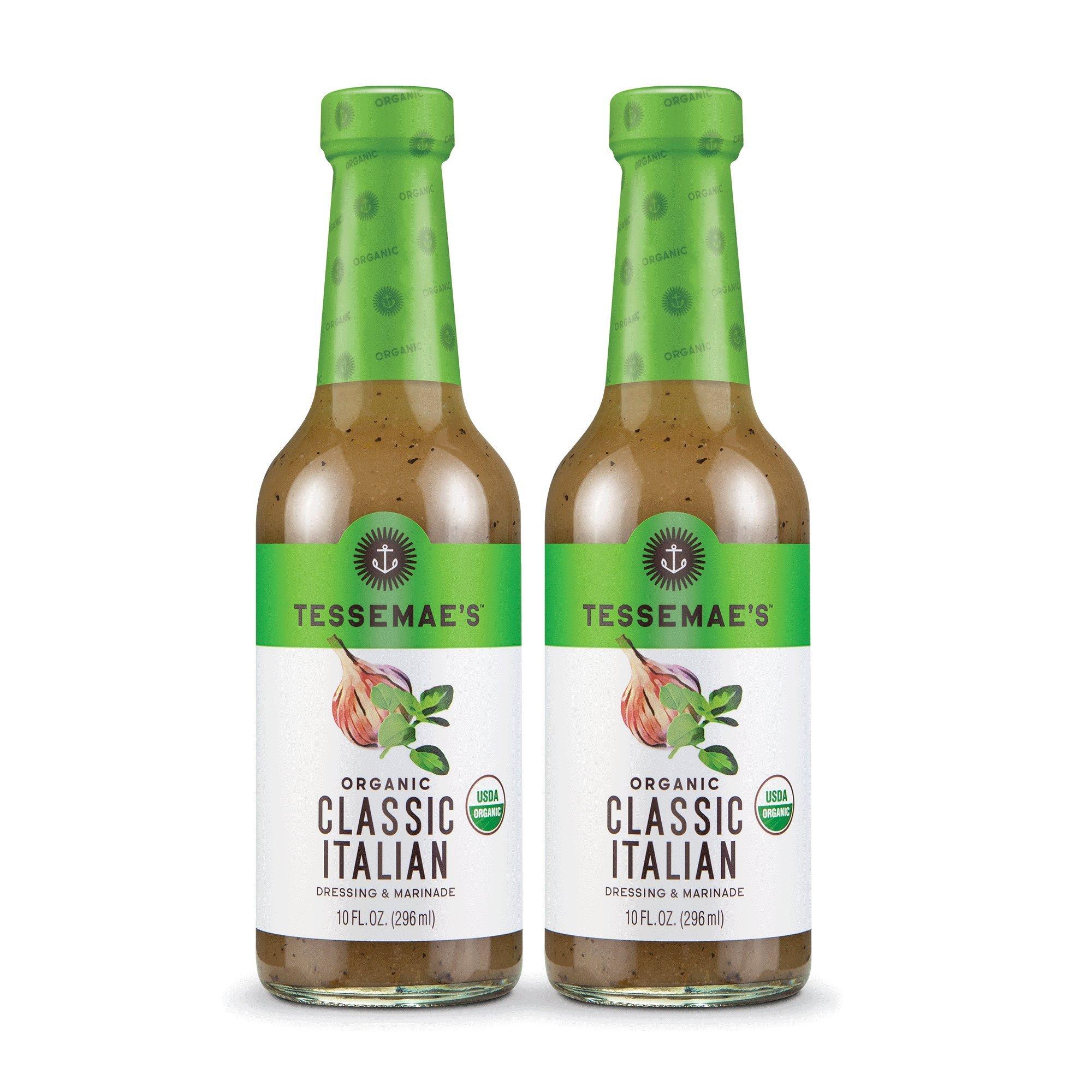 Tessemae's All Natural Salad Dressing 2-Pack (Organic Classic Italian)