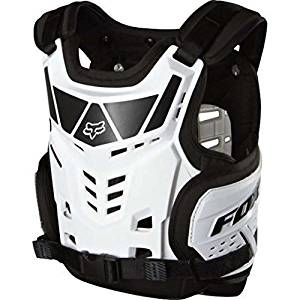 Fox Racing Raptor Proframe LC Youth Roost Deflector Off-Road/Dirt Bike Motorcycle Body Armor - White / One Size by Fox Racing