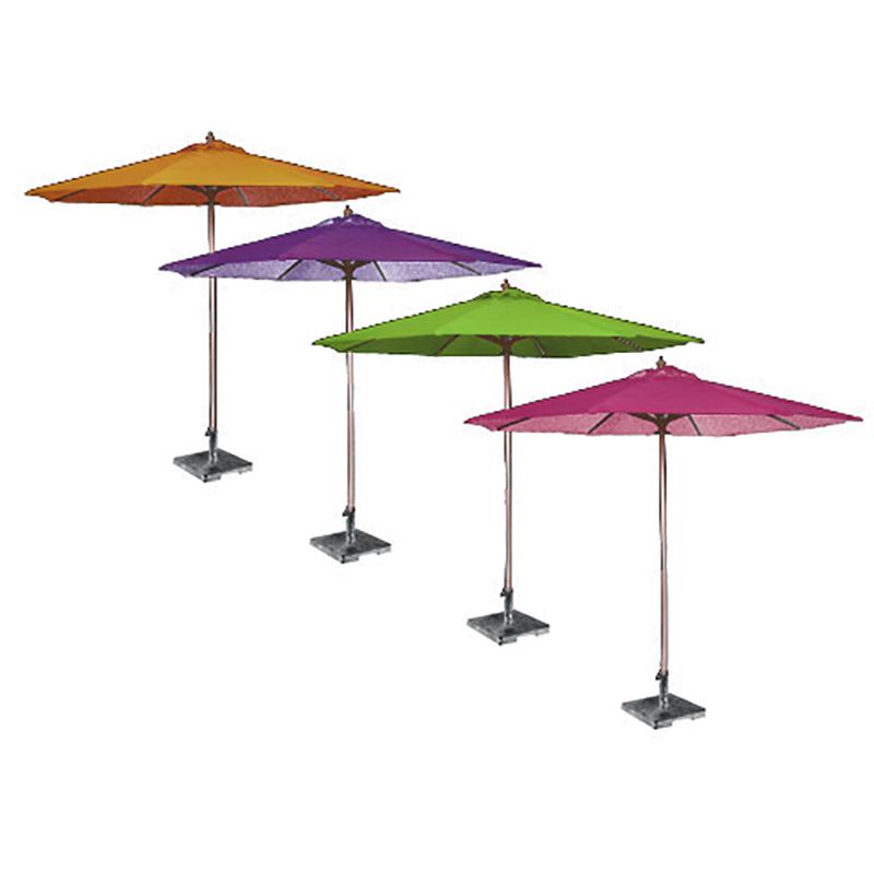 Waterproof Outdoor Patio Garden Used Bamboo Frame Sun Parasol Beach Umbrella