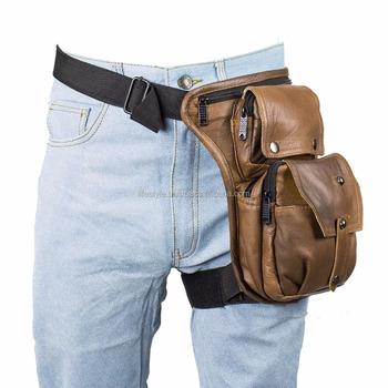 Leg Waist Bags Fashion Bag Men Dog Military Motorcycle Pouch