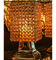 Modern Crystal Hanging Chandelier For Events