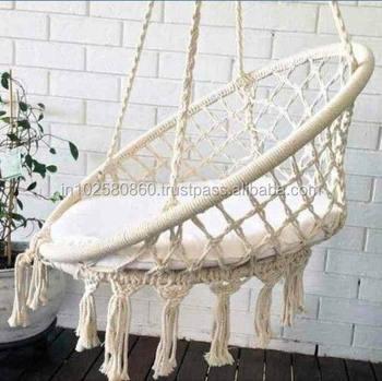Macrame Hammock Macrame Chair Macrame Handmade Hammock