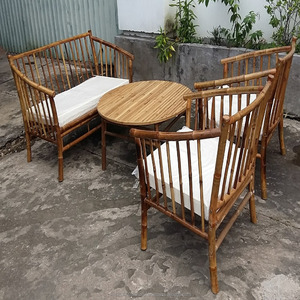 Bamboo sofa furniture garden furniture