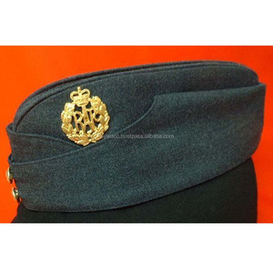 raf group captain forage cap blue grey army side cap royal British side cap