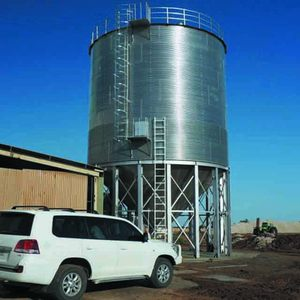 Assembly Grain Silos made by galvanized steel