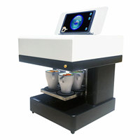 Automatic Fast Speed 3D Selfie Cappuccino Latte Art Coffee Printer