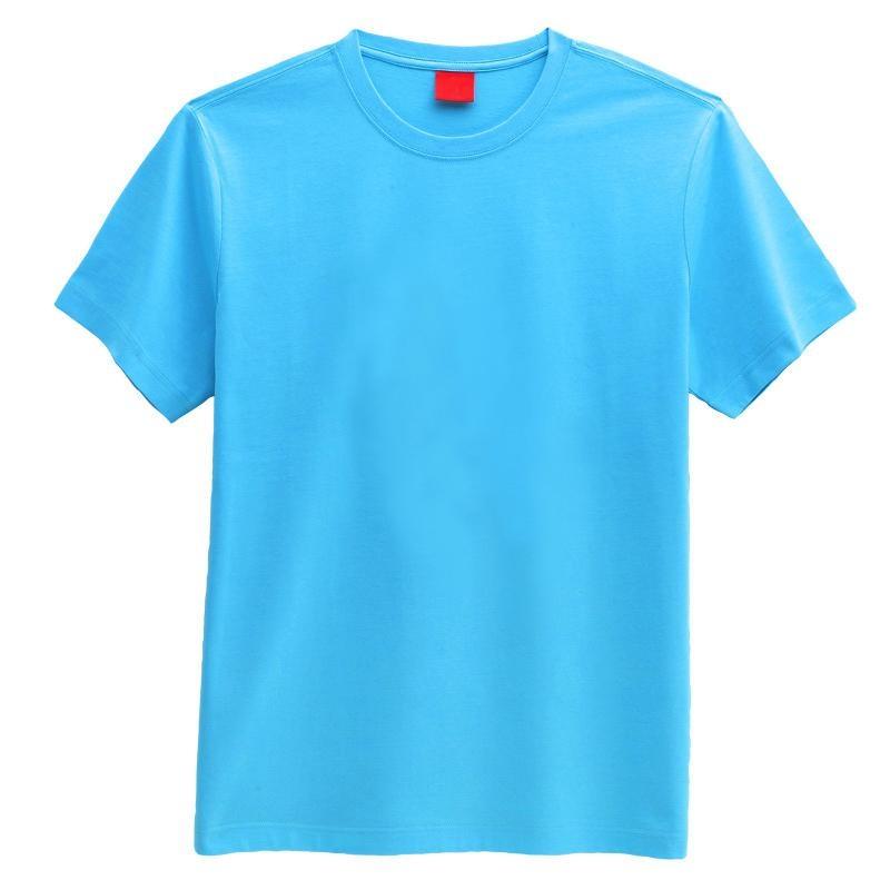 blue round neck plain tshirt buy plain round neck t