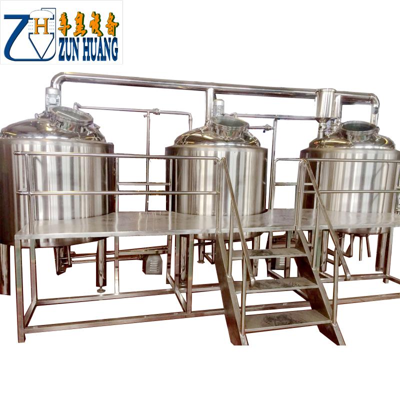 1000L 3 vessel brewhouse