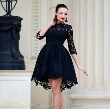 Lace Bloom Black Luxe Skater Dress Buy Kim Kardashian Black Lace Dressblack Lace Overlay Evening Dress 2016modest Black Lace Dress Product On