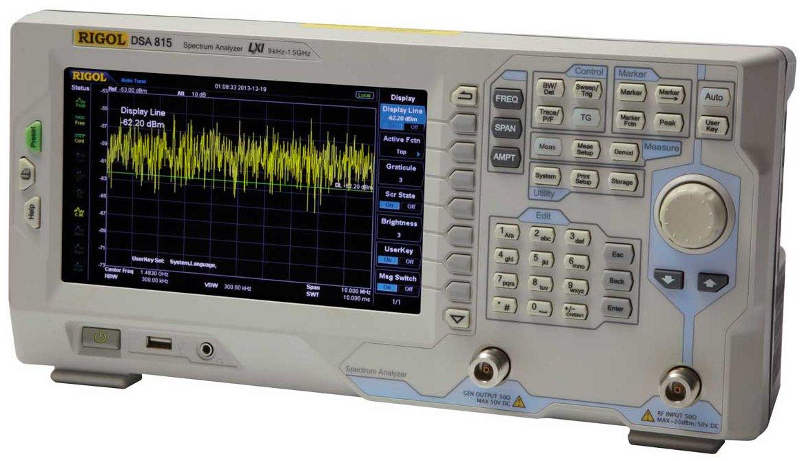 Rigol DSA815 Spectrum Analyzer ( no tracking generator )