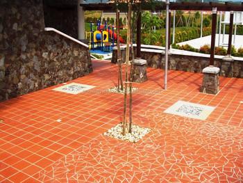 Terracotta pavimento di piastrelle adesivo per la costruzione di