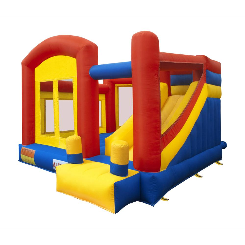 Inflatable Slide Where To Buy: New Design Inflatable Bouncer,Jumping Castle With Slide