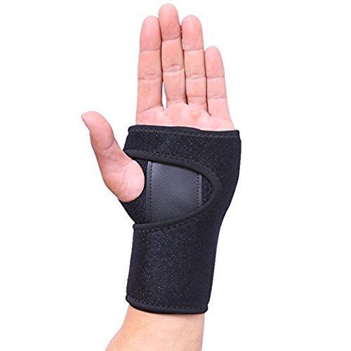 9a434241c12d Get Quotations · Hand Wrist Wraps Support for Men and Women Removable  Splint Martial Arts by AOLIKES,Tennis