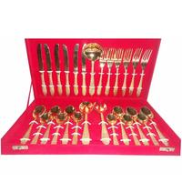 Gold plated Cutlery Gift set for weddings