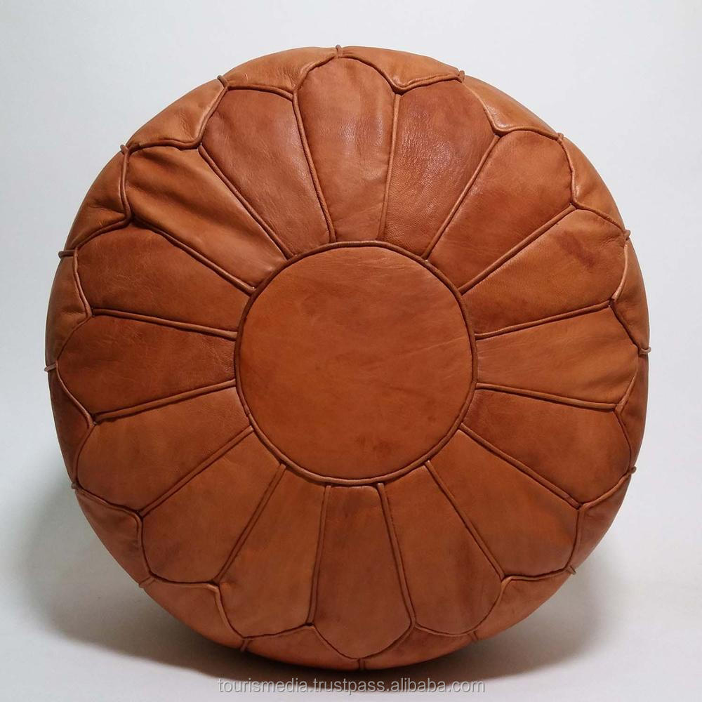 Awe Inspiring Moroccan Pouf Handmade Tan Leather Poufs Ottoman Footstool Pouffe Wholesaler T2Jm3 View Moroccan Leather Poufs Moroccan Pouf Product Details From Ncnpc Chair Design For Home Ncnpcorg