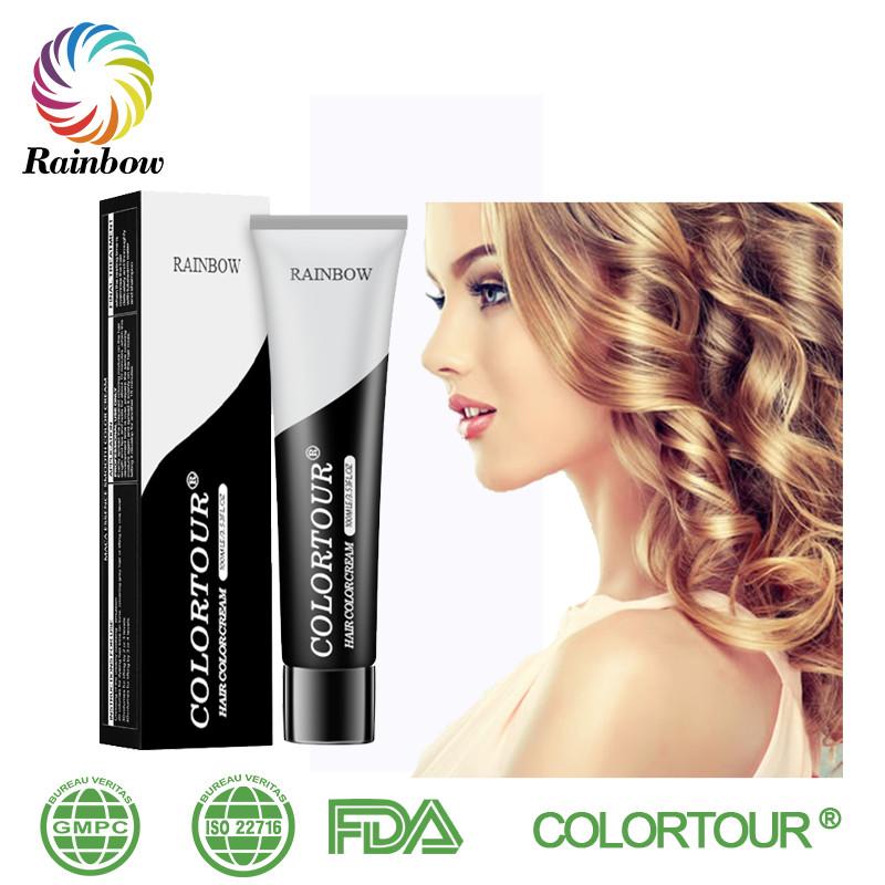 Colortour Fragrant Acidic Hair Color Low Ammonia Henna Free Sample